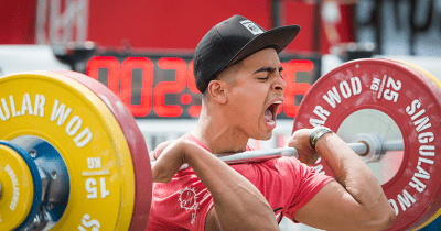 Crossfitter-Weightlifting