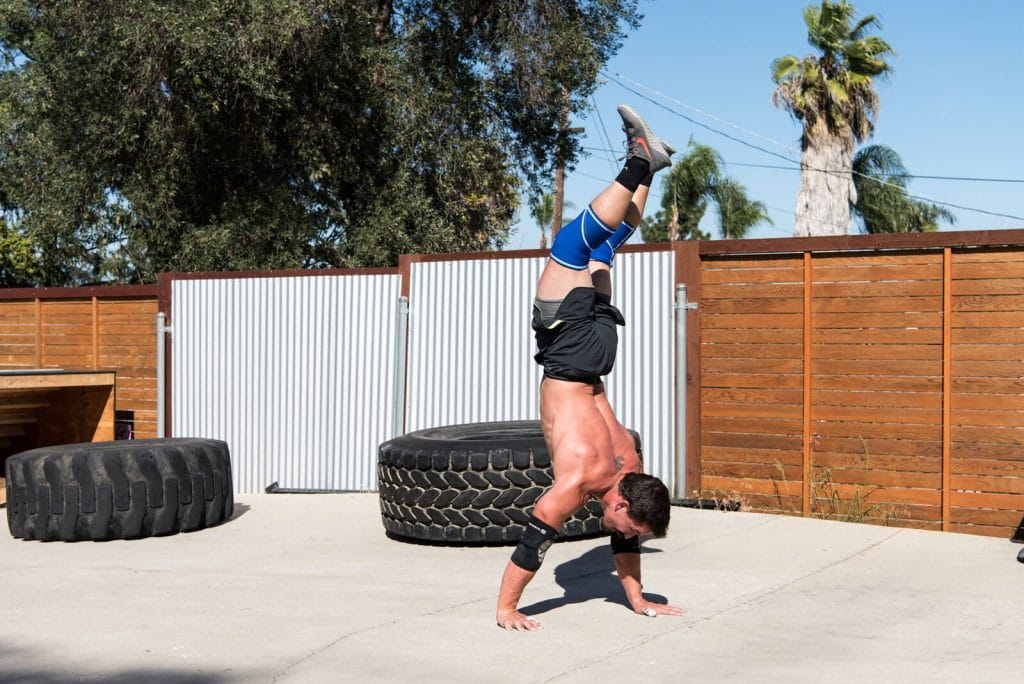 Josh Bridges Handstand Walk