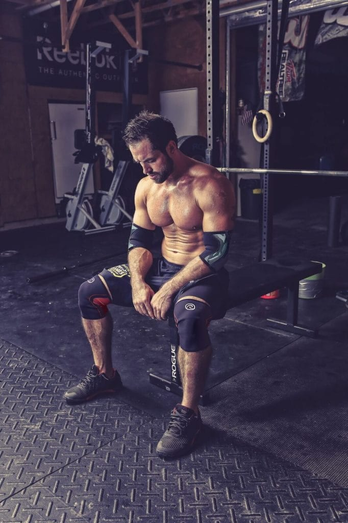 Rich Froning Bench Press