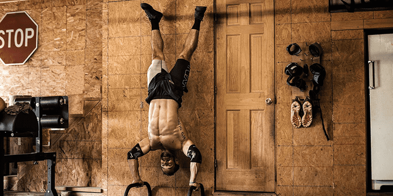 Rich Froning Handstand Push Up