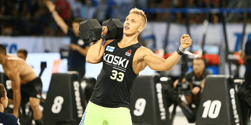 Jonne-Koski CrossFit Open workout 19.5