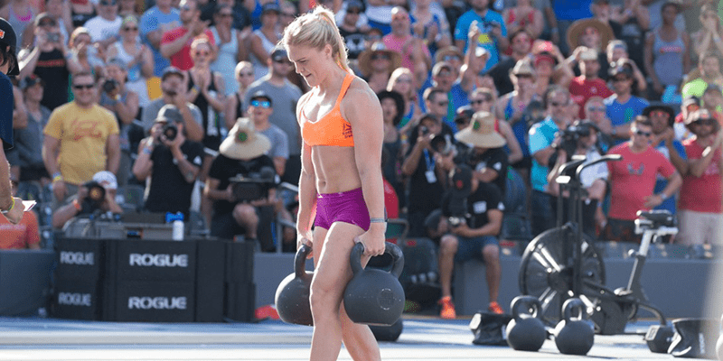 Katrin Davidsdottir Wins The Fibonacci Event at The CrossFit Games