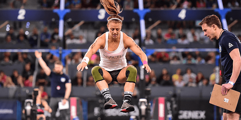 CrossFit Open Workout 18.1 Live Announcement – Kristin Holte