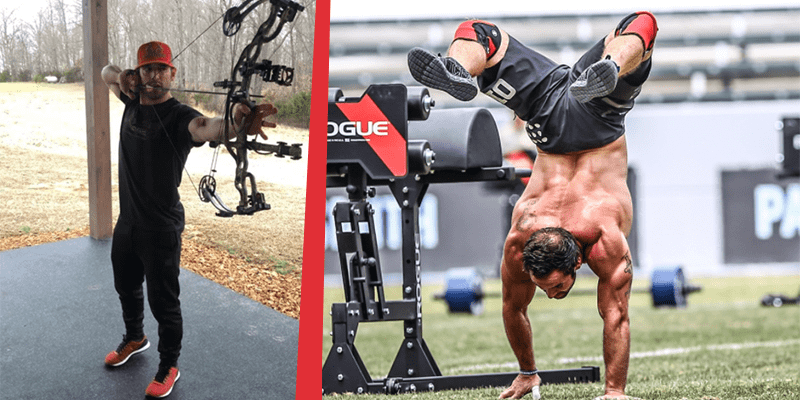 Rich Froning Adds Archery into His CrossFit Workouts