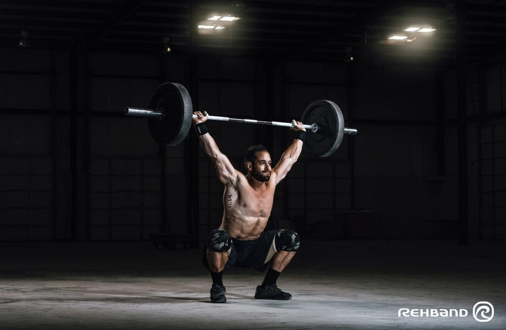 Carry Yourself: Rehband's Olympic Weightlifting Guide to The Snatch