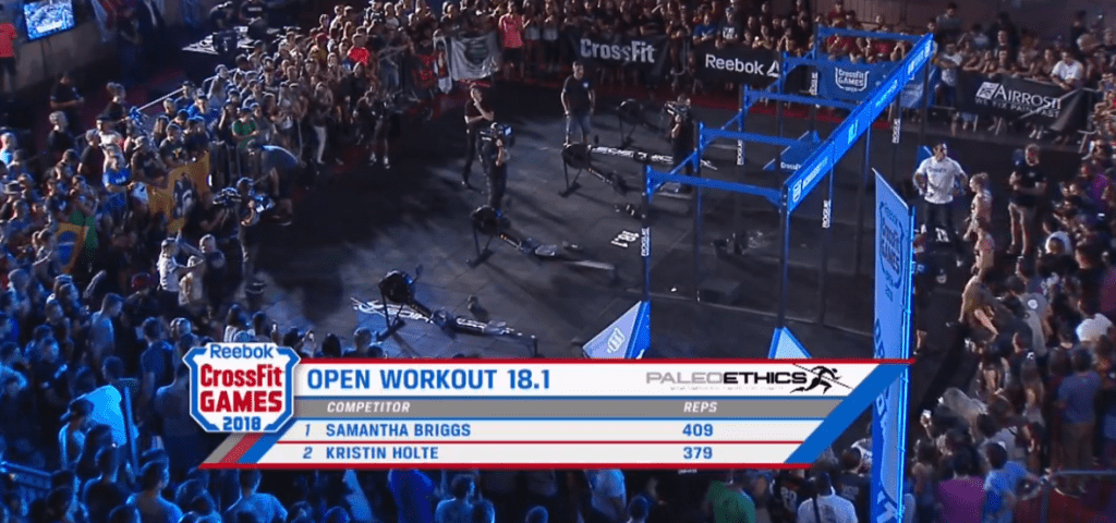CrossFit Open Workout 18.1 reps