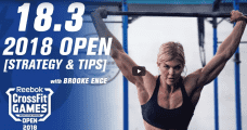 Brooke Ence Crossfit Open WOD 18.3