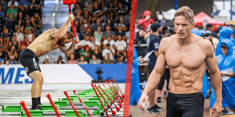 20 Action Photographs of Elite Male CrossFit Athletes