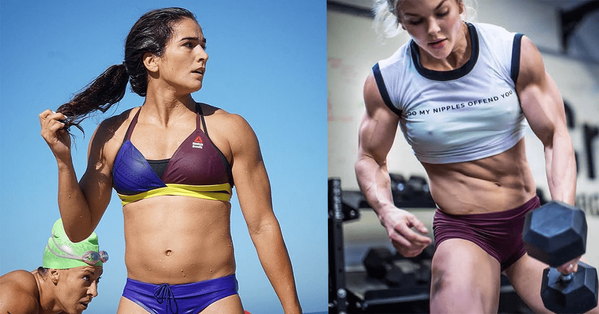 25 Awesome Action Shots Of Inspirational CrossFit Women