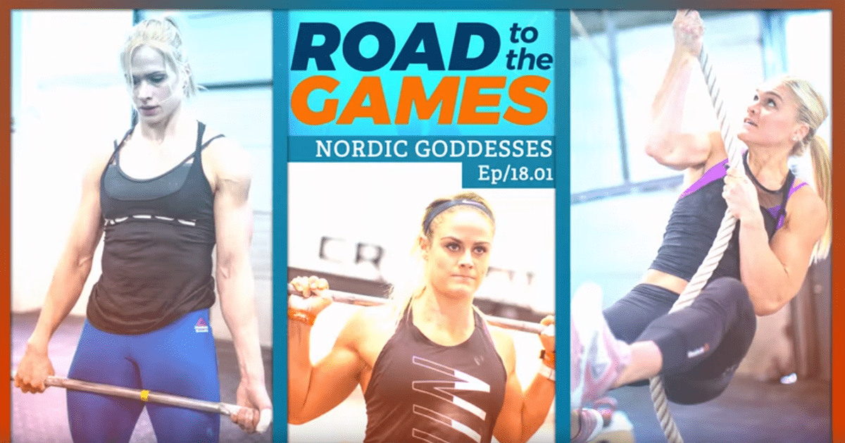 Road to The Games 18.1 – Thorisdottir, Sigmundsdottir, Davidsdottir