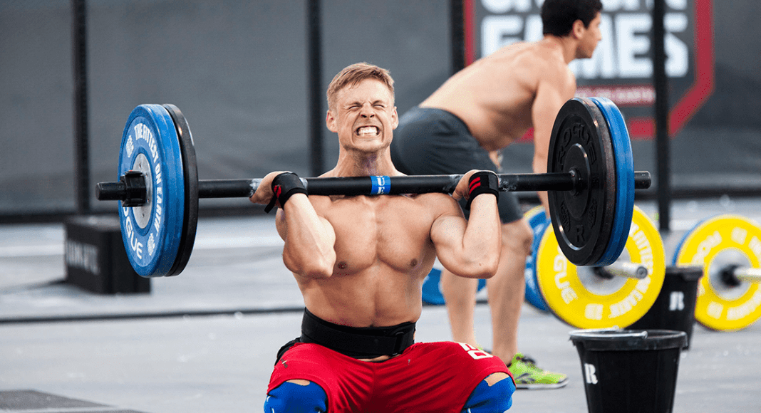 Thrusters crossfit workouts