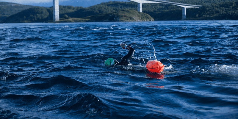 How Crossfit Helped Me Swim Across The World's Largest Whirlpool (8.5km in The Arctic Circle)