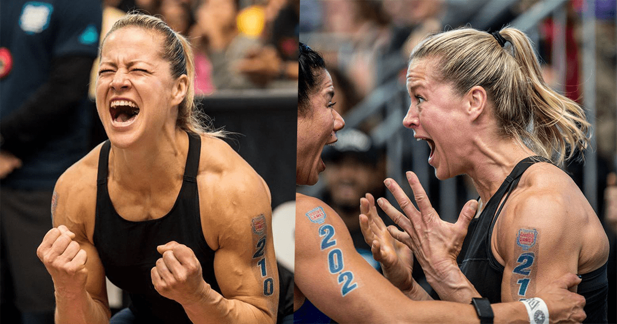 38 Yr Old Becca Voigt Competes With Broken Thumb – Still Qualifies for Her 10th Individual CrossFit Games!