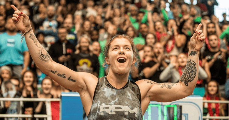 Emily-Abbott-fail drug test 2018 crossfit games
