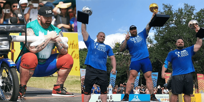 Breaking News – Halfthor Bjornsson Wins World's Strongest Man Competition