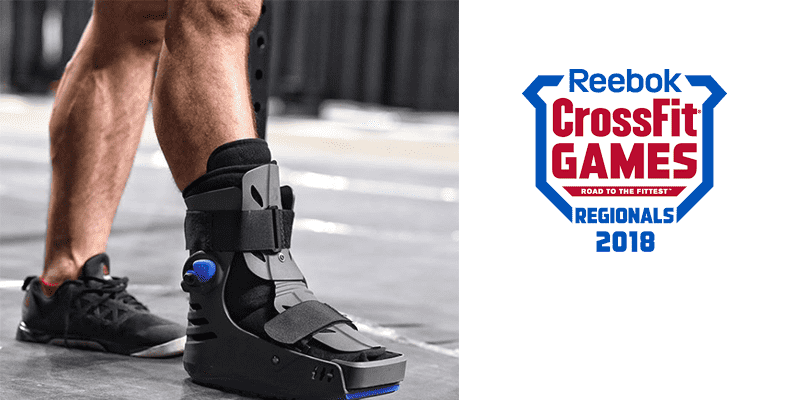 INJURY – CrossFit Games Veteran is Out of The East Regional With Broken Foot