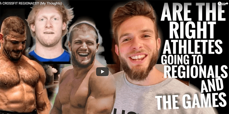 Are the Right Athletes going to Regionals and the CrossFit Games?