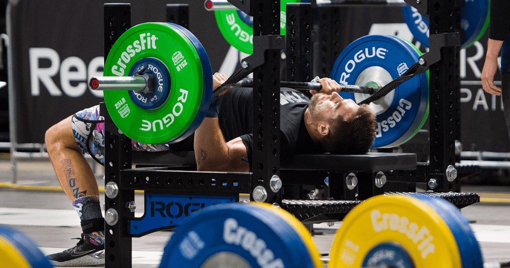 Bench Pressing crossfit chest workouts