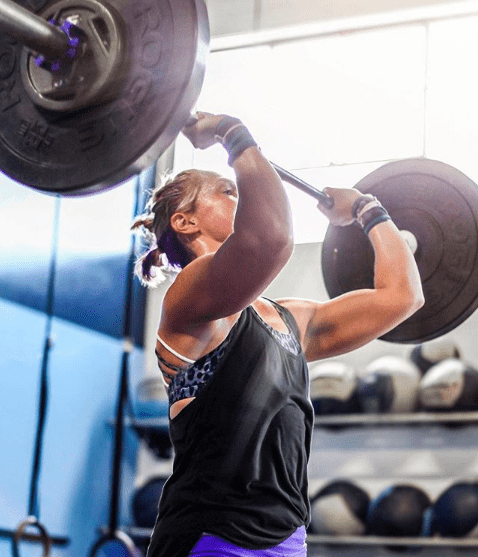 olympic weightlifting jerk
