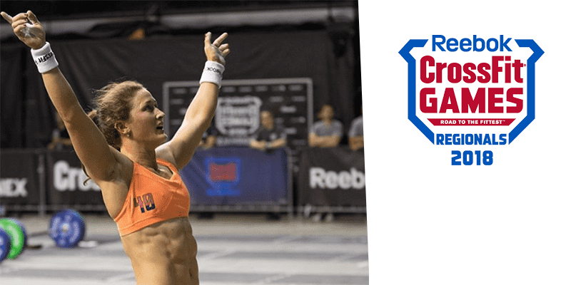 Tia-Clair Toomey Wins Event 1 in The CrossFit Pacific Regionals