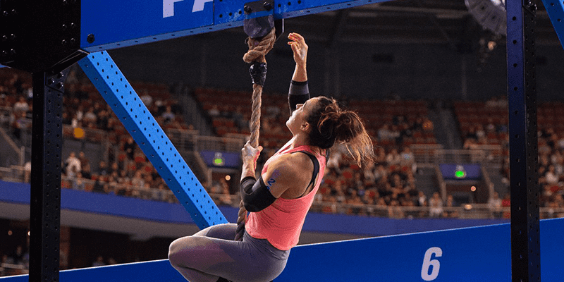 CrossFit rope climb workouts