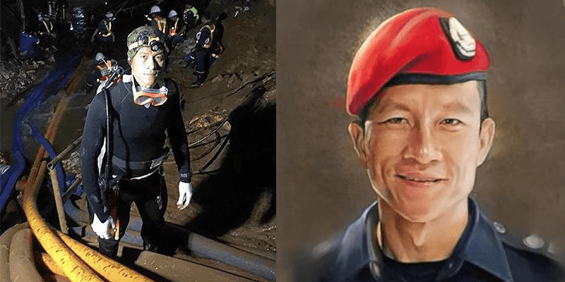 Saman Hero WOD Created by Crossfit Chiang Mai for Thai Diver that Died Rescuing Boys from Flooded Cave