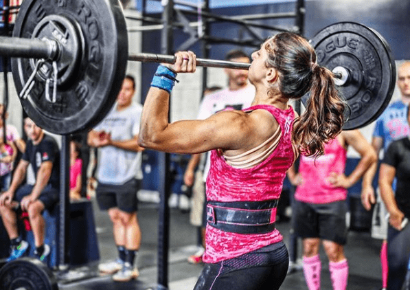 Jerk olympic weightlifting