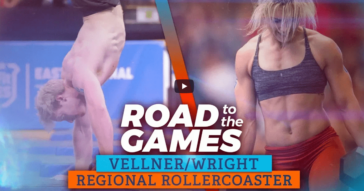 Road to The Games 18:04 – Pat Vellner and Tia Wright