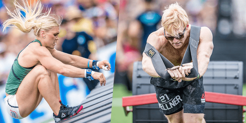 Katrin Davidsdottir and Pat Vellner Win The CrossFit Games Chaos Event
