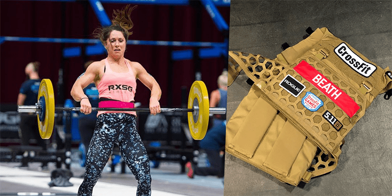 Justine Beath Disqualified from The 2018 CrossFit Games
