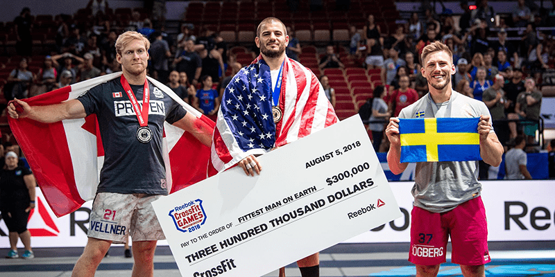 Mat Fraser Responds to Winning His Third CrossFit Games
