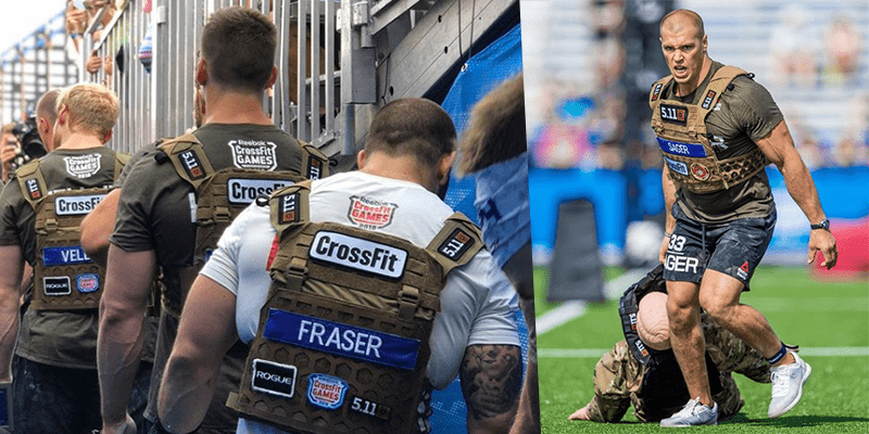BREAKING NEWS – Cole Sager Wins The Battleground Event at The CrossFit Games