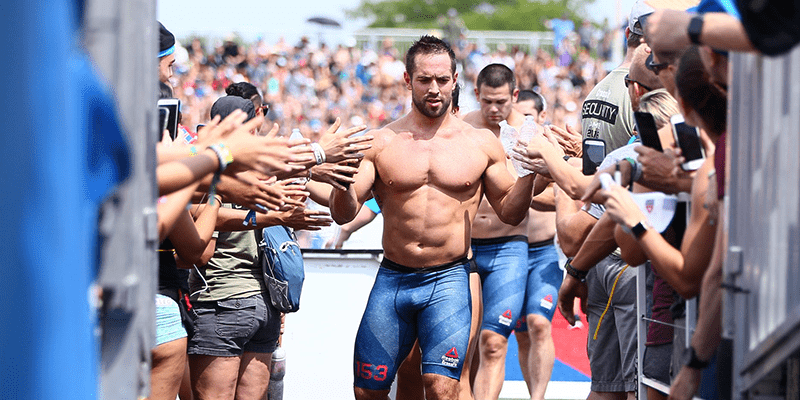 Rich Froning chest workouts