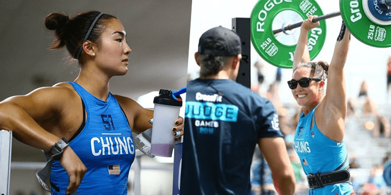 BREAKING NEWS – Steph Chung Completed Entire 2018 CrossFit Games with a Broken Ankle!