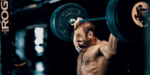 muscle growth crossfit athlete