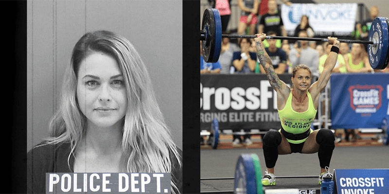 Regionals CrossFit Athlete Christmas Abbott Arrested For Ramming Women's Car