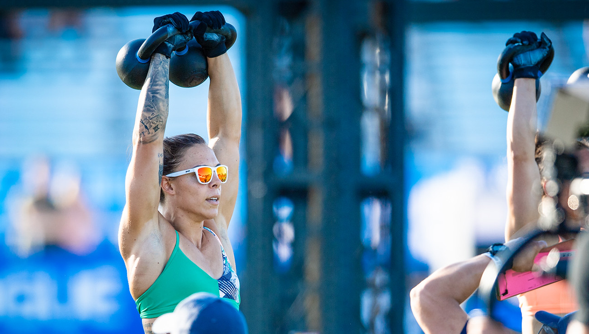 shoulder exercises like the kettlebell press are great for building strength