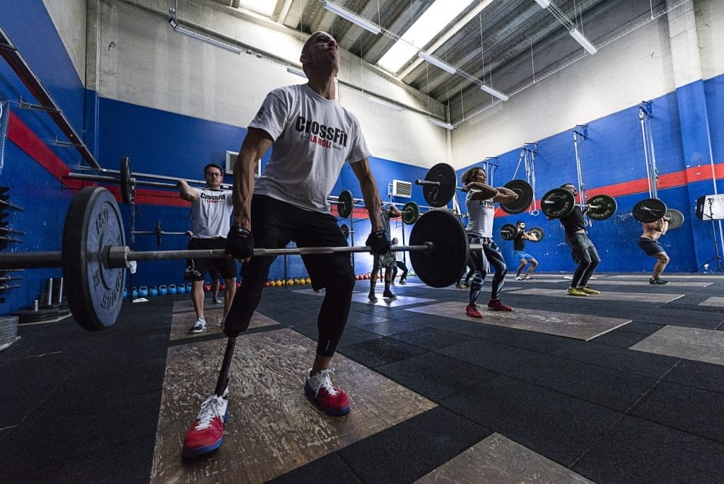 16ddfe0708b Competing in CrossFit  Tips from Adaptive Athlete Andrea de Beni ...