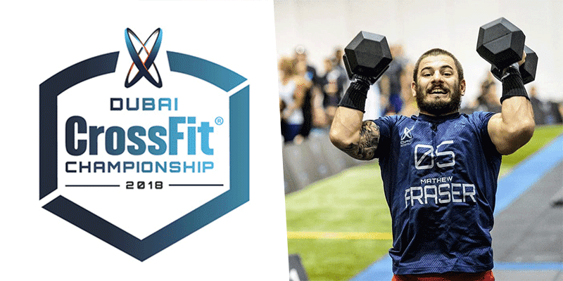 Mat Fraser Wins Event 1 of Dubai CrossFit Championship