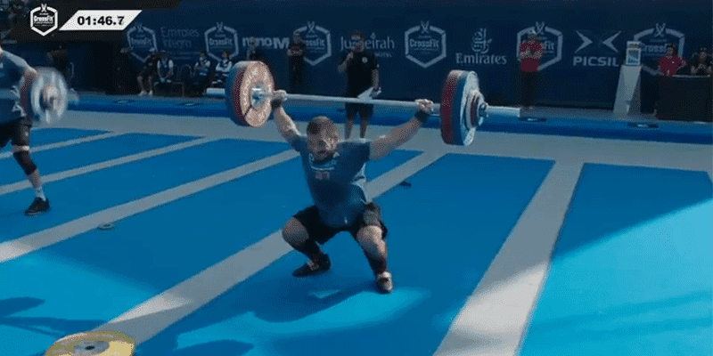 WATCH NOW – Mat Fraser Wins the 1 Rep Max Snatch Event at Dubai CrossFit Championship
