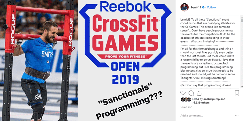 CrossFit Games® Athletes Debate the New Sanctionals® Format (Rich Froning, Ben Smith, Brent Fikowski)