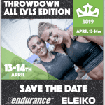 Kronan Throwdown All Level Edition 13-14th april 2019