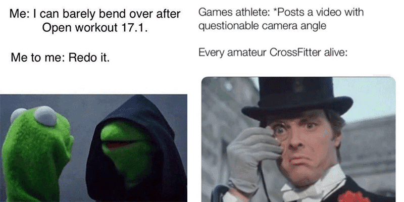 10 Fun Memes about The 2019 CrossFit Open