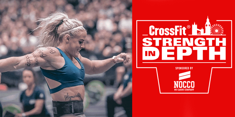 Sara Sigmundsdottir Wins Strength in Depth