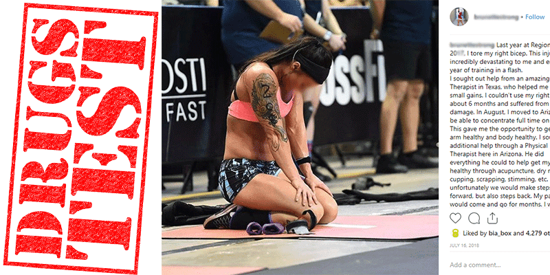 CrossFit Regionals Athlete Receives SECOND Doping Ban!