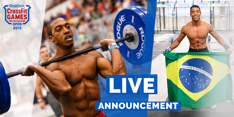 19.4 CrossFit Open Workout Live from Brazil: Gui Malheiros Vs EZ Muhammad