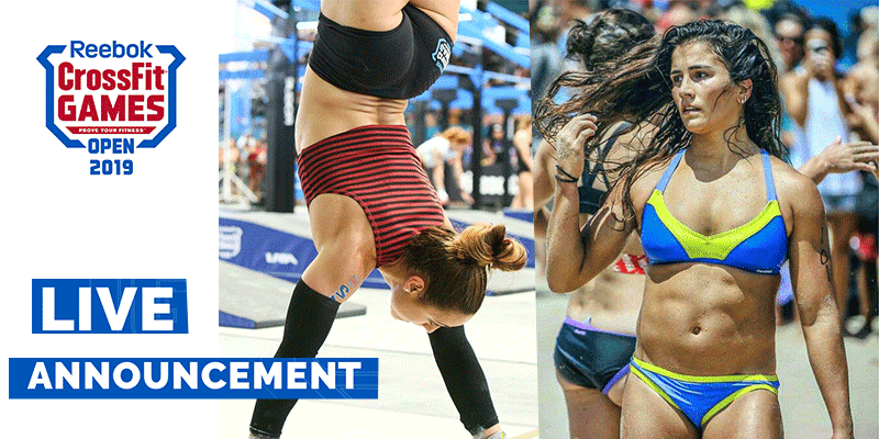Lauren Fisher will Battle Alessandra Pichelli at CrossFit Open Workout 19.3 Announcement