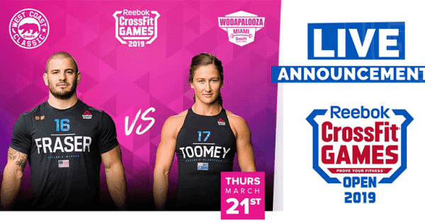CrossFit Open Workout 19.5 – Mat Fraser vs Tia Clair Toomey