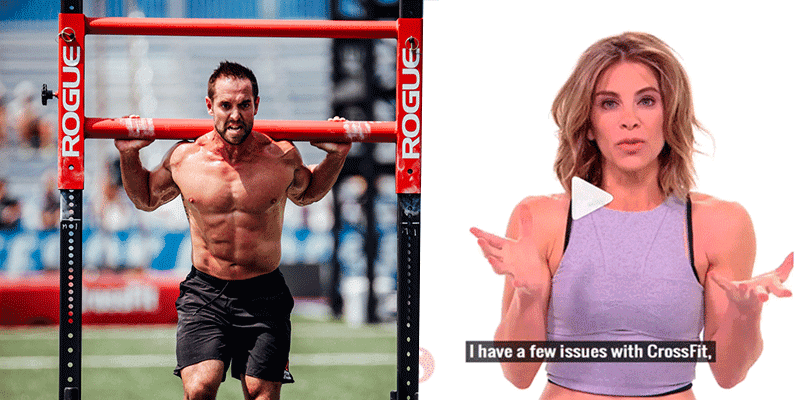 Rich Froning Responds to Hate Comments about CrossFit from Jillian Michaels