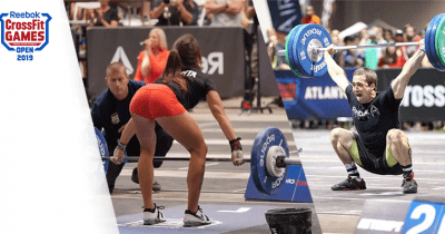 Snatch CrossFit Open 2019